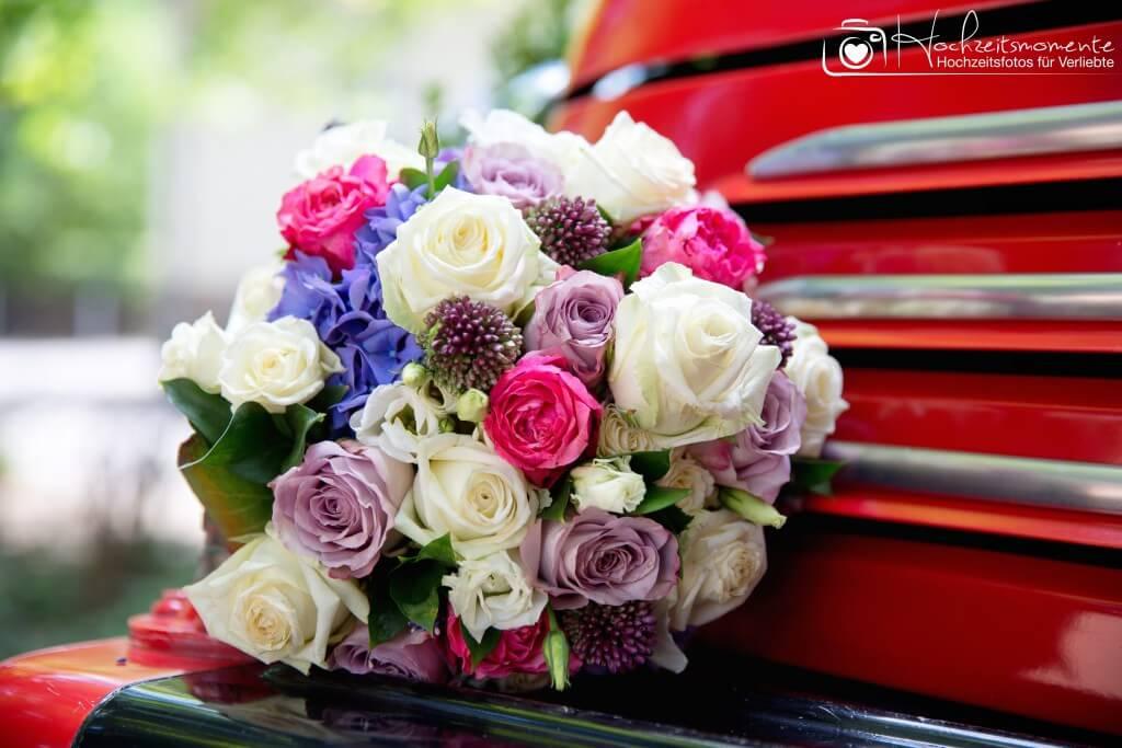 Ein schöner Brautstrauß
