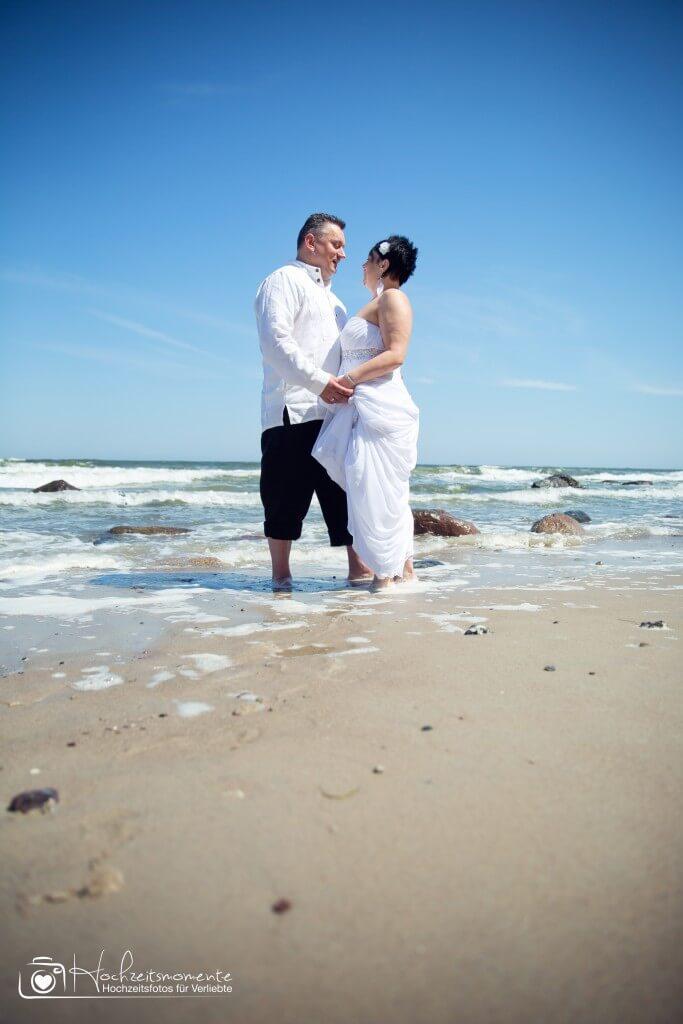 Hochzeitsfotos Ostsee