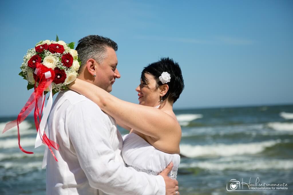 Hochzeitsfotoreportage Ostsee