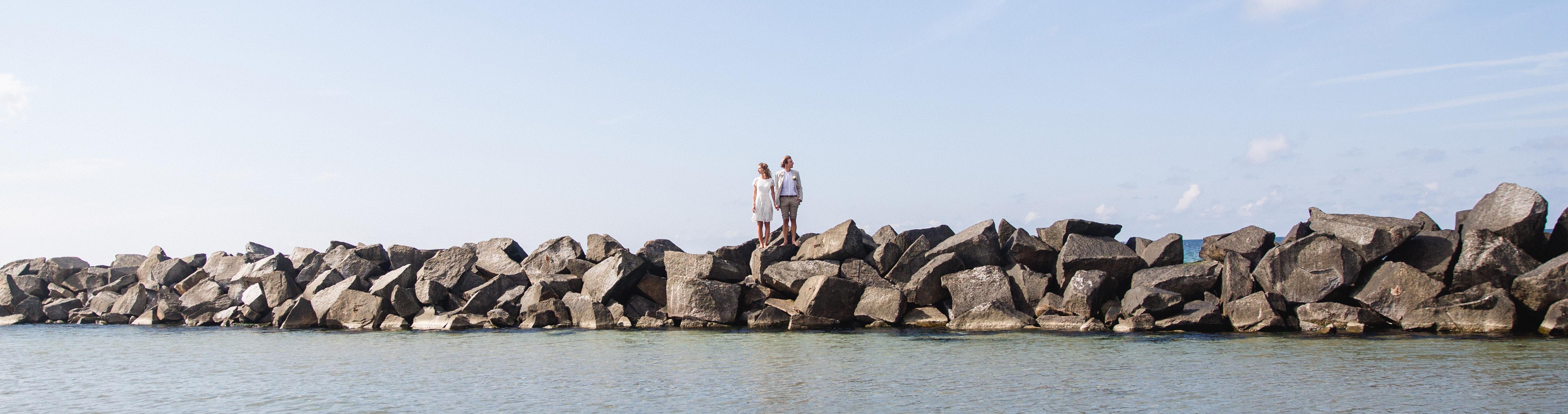 Hochzeitsgeschichte aufgenommen von der Rostocker Fotografin.