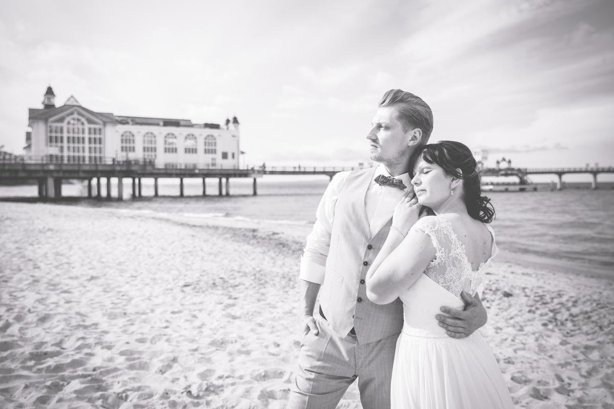 Heiraten an der Seebrücke Sellin.