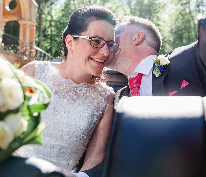 Hochzeit in Gelbensande - Trauung im Jagdschloss