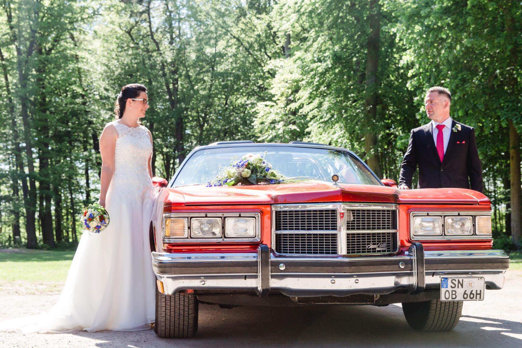 Hochzeit im Jagdschloss Gelbensande