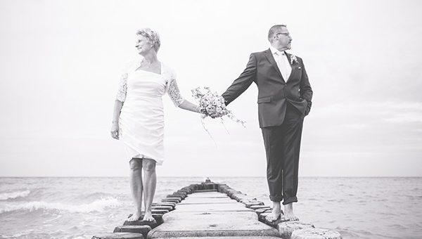 Heiraten in Ahrenshoop mit Meerblick