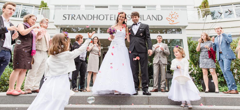 Heiraten im Strandhotel Fischland in Dierhagen