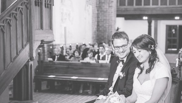 Kirchliche Hochzeit in Altkalen von Beate & Fabian