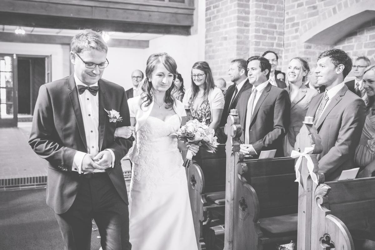 Einmarsch Brautpaar