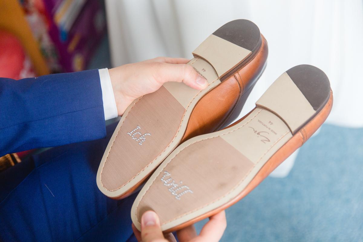 Schuhsticker Bräutigam