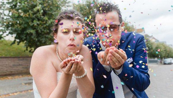 Bunt...bunter...am buntesten - eine kunterbunte Hochzeit in Sellin