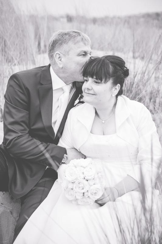 Brautpaarshooting in der Düne