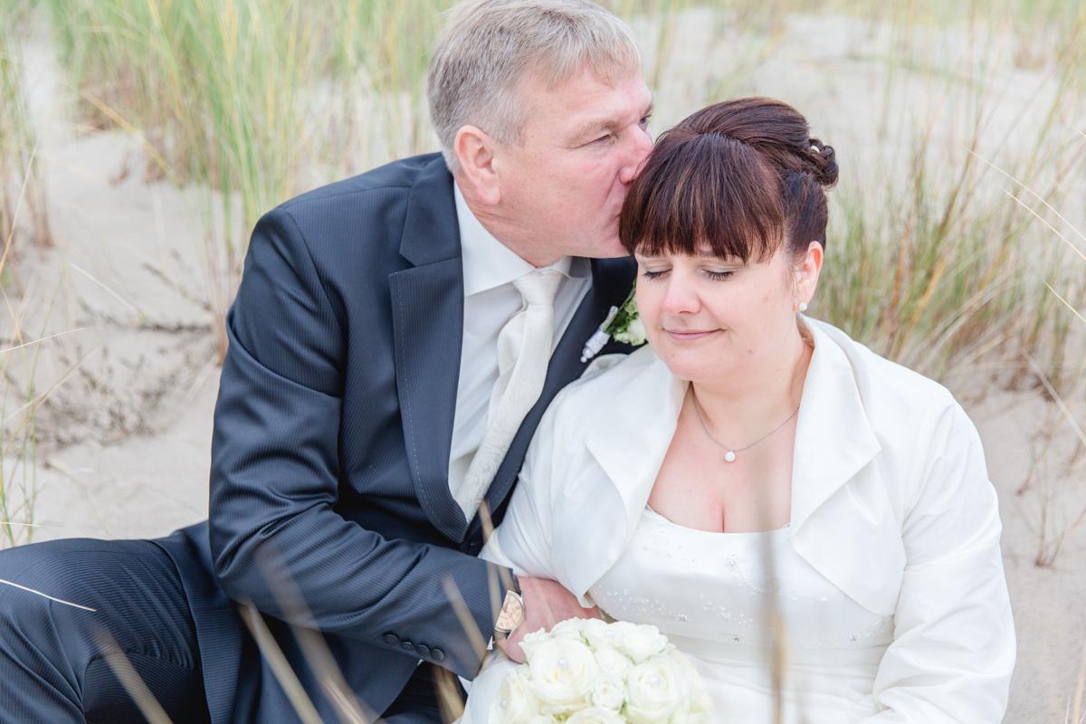 Hochzeitsfoto in der Düne