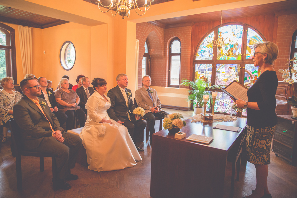Eheschließung im Möckelhaus in Bad Doberan