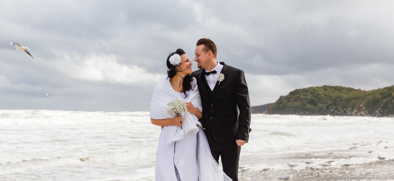 Hochzeitsfotoreportage in Binz
