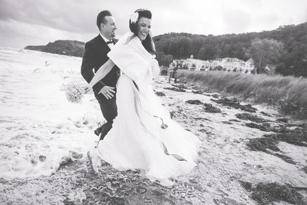 Heiraten in Binz - J. und R. heiraten während der großen Sturmflut