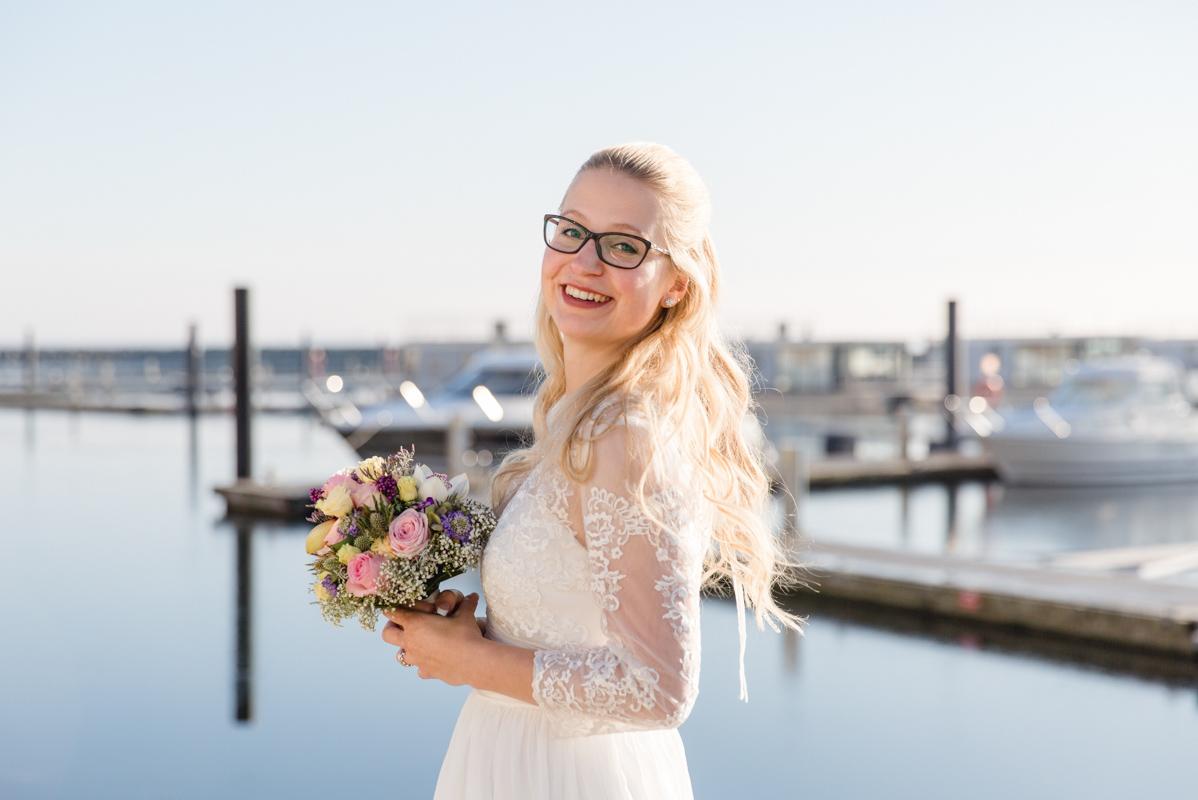 Heiraten am Jachthafen von Boltenhagen