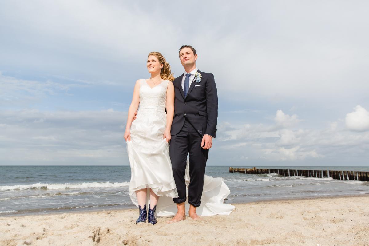 Hochzeitsfotografie am Strand