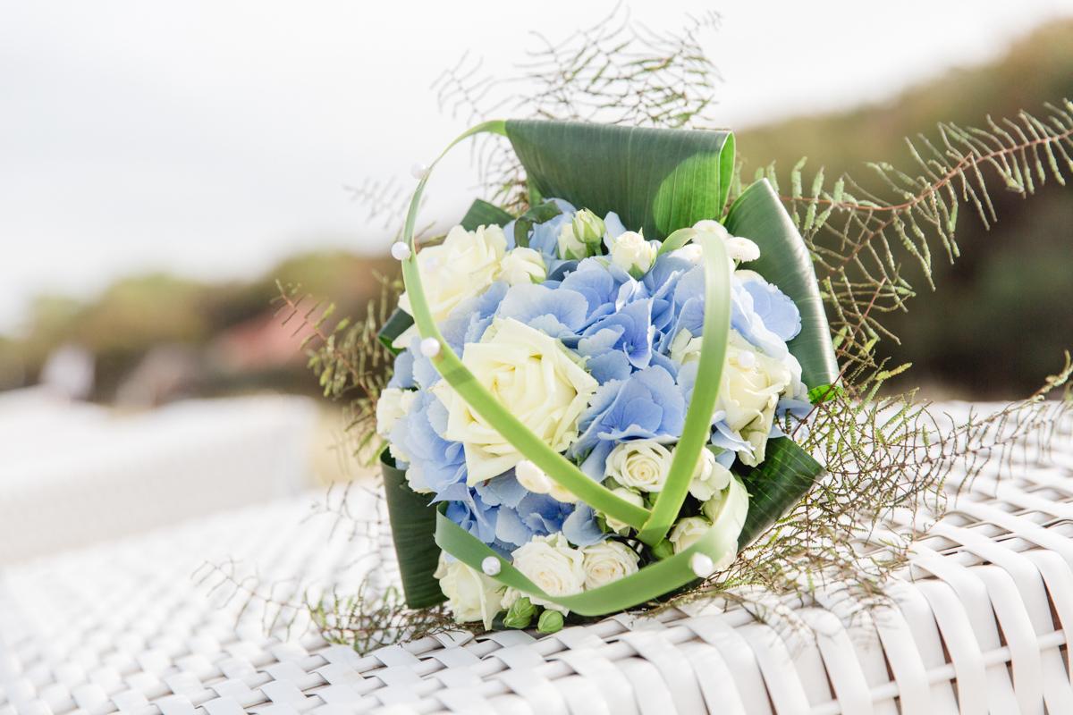 Brautstrauß von einer Trauung in Kühlungsborn