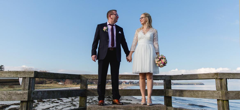 Braut und Bräutigam in Boltenhagen