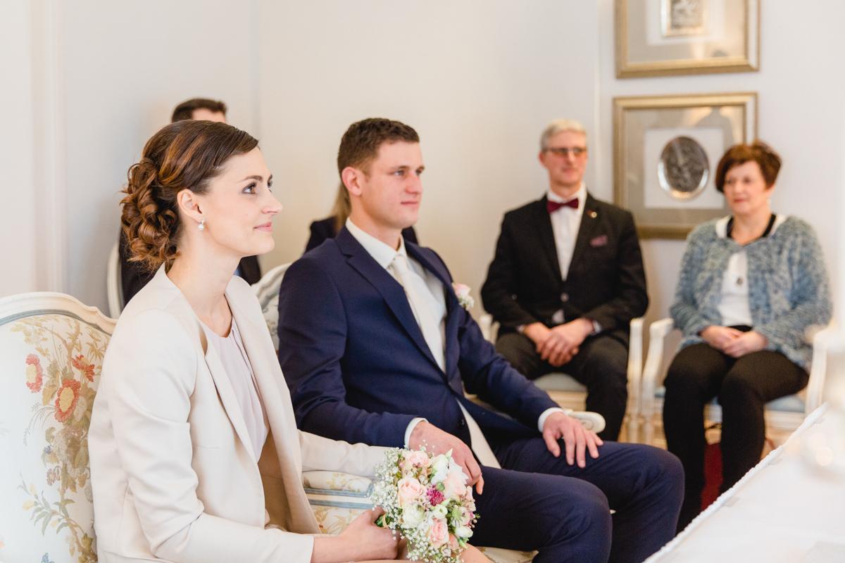 Hochzeitszeremonie im Grand Hotel in Heiligendamm.