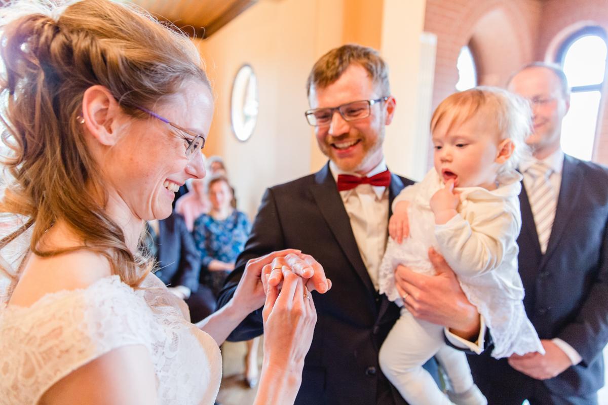 Hochzeit im Standesamt Bad Doberan.