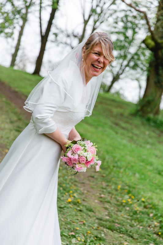 Hochzeitsfoto von der Braut