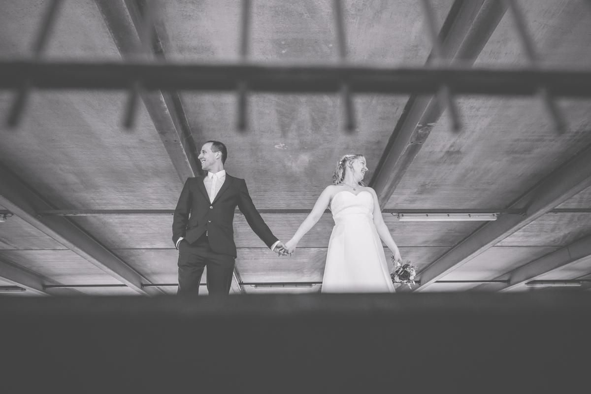Hochzeitsfotos im parkhaus Rostock