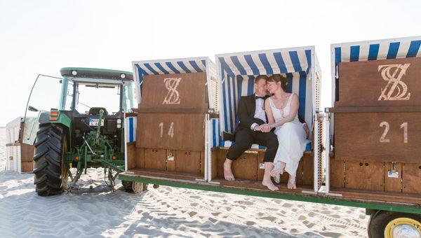 Strandhochzeit in Ahrenshoop -