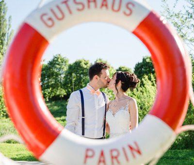 Heiraten in dem Gutshaus Parin