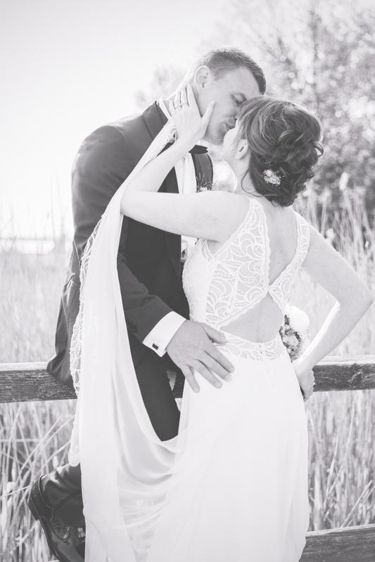 Brautpaarfotoshooting mit einer erfahrenen Hochzeitsfotografin.