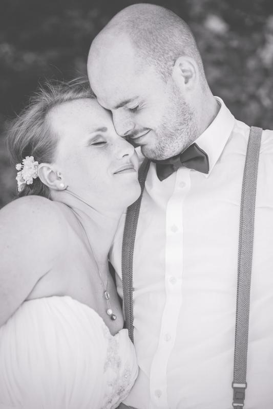 Hochzeitsfotografin aus Sellin fotografierte dieses Brautpaar.