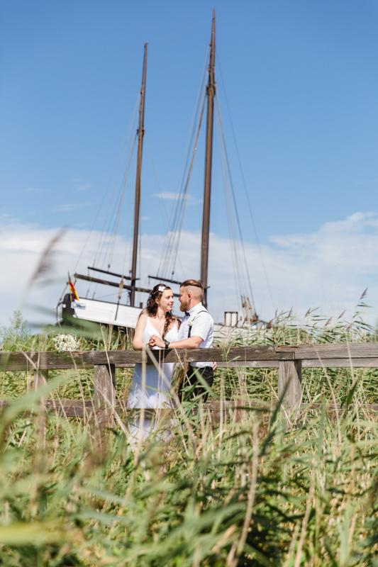 Emotionale Hochzeitsfotografie Zingst