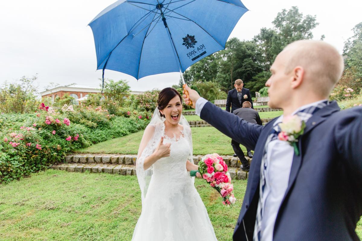 Hochzeitsfotos aufgenommen auf dem Gut Groß Siemen.