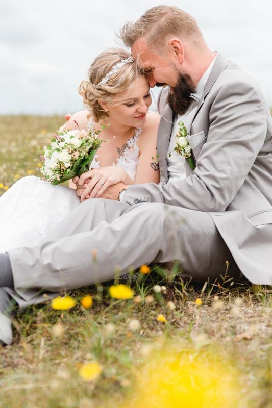 Ausgefallene Hochzeitsfotografie Zingst.
