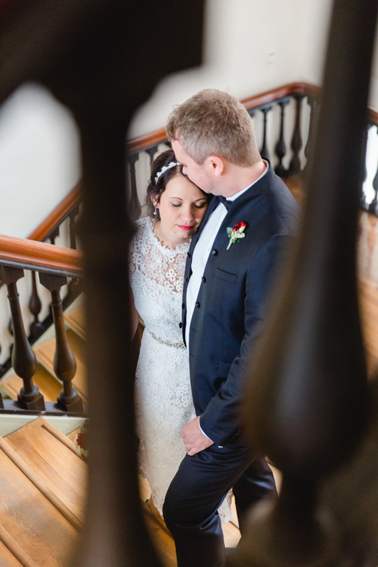 Brautpaarshooting im Rathaus