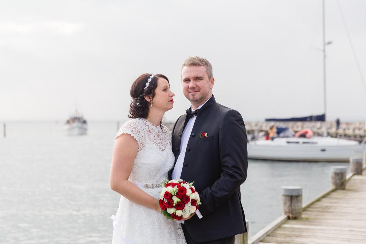 Brautpaarshooting auf der Insel Poel.