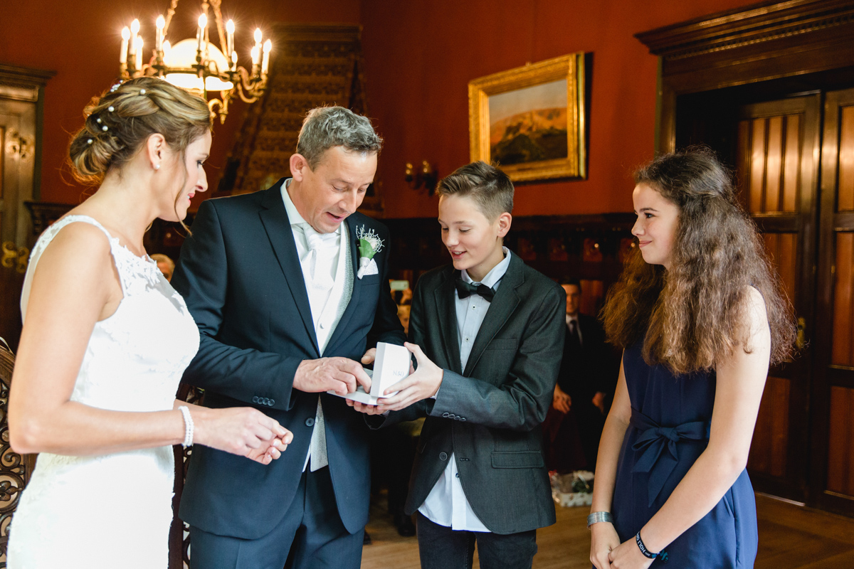 Heiraten im Jagdschloss Gelbensande