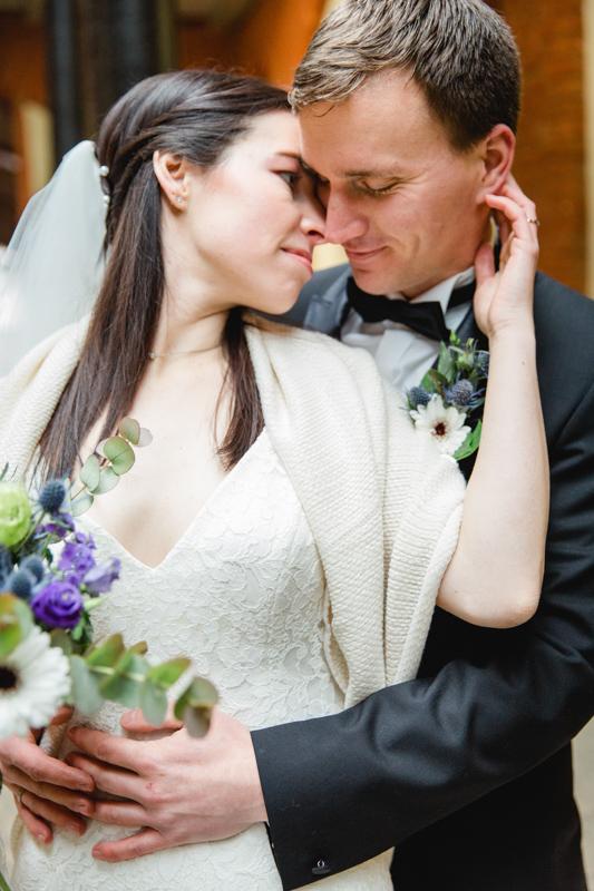Hochzeitsfoto aufgenommen in Stralsund.