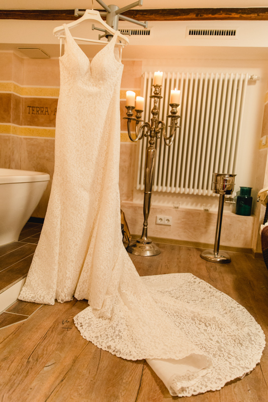 Brautkleid - Detailsfoto