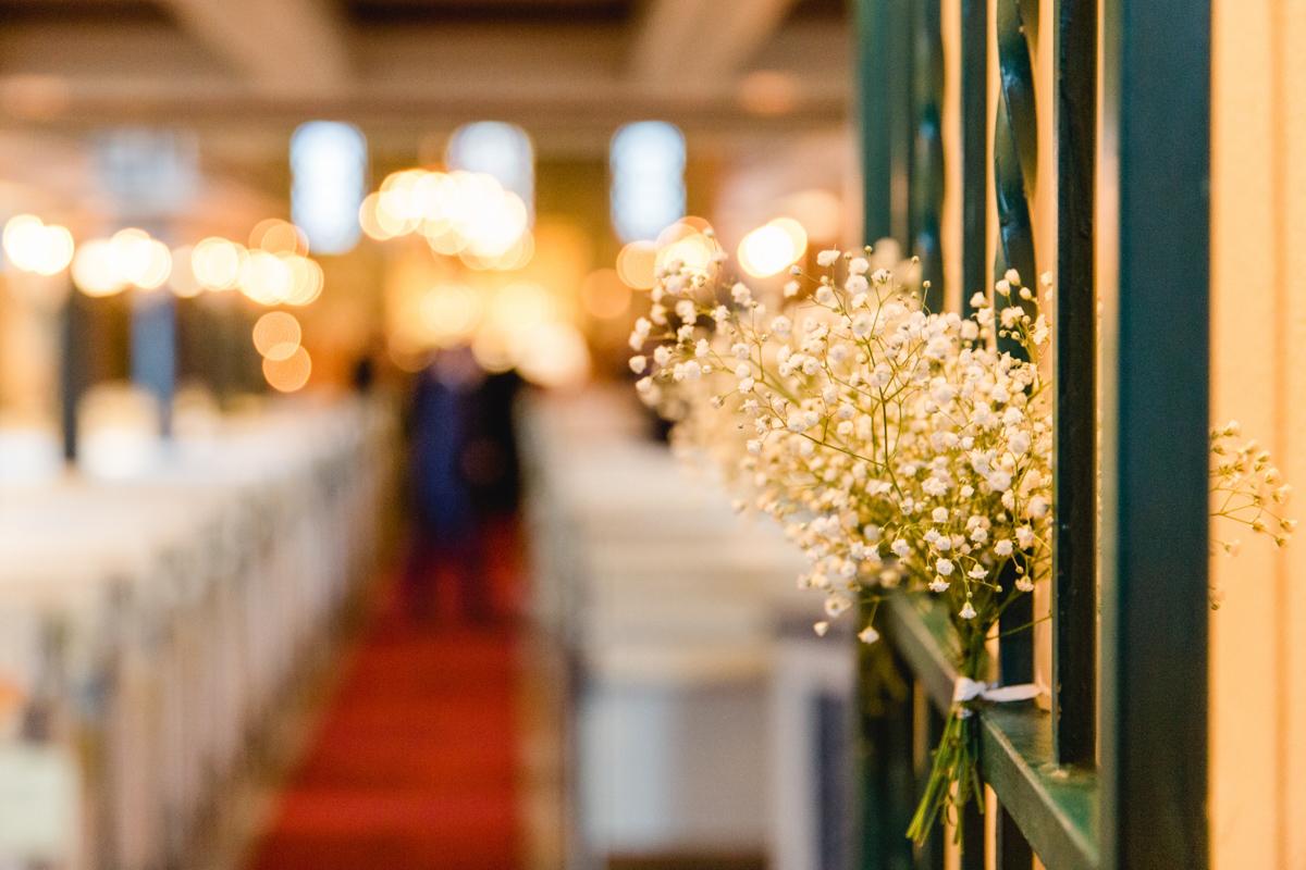 Kirchliche Hochzeit in Neuruppin.
