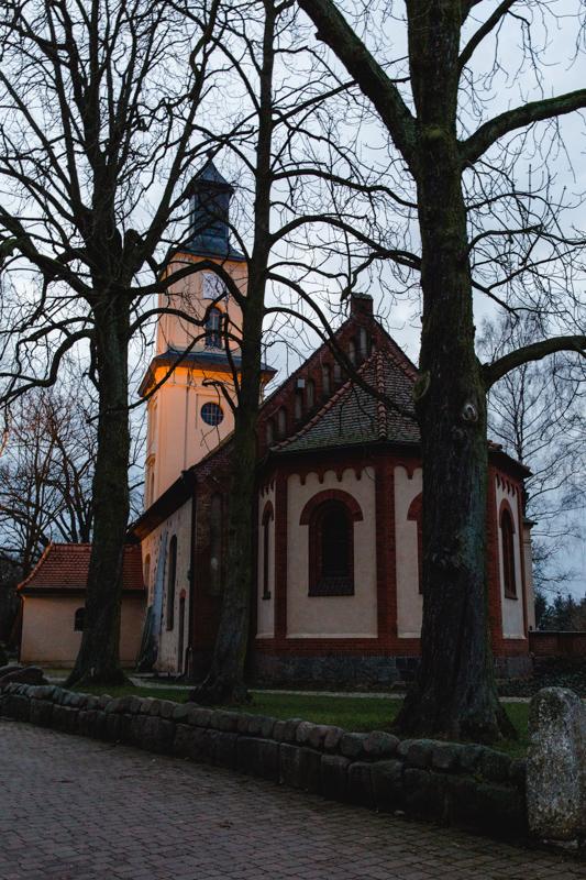 Kirchliche Trauung in Neuruppin.
