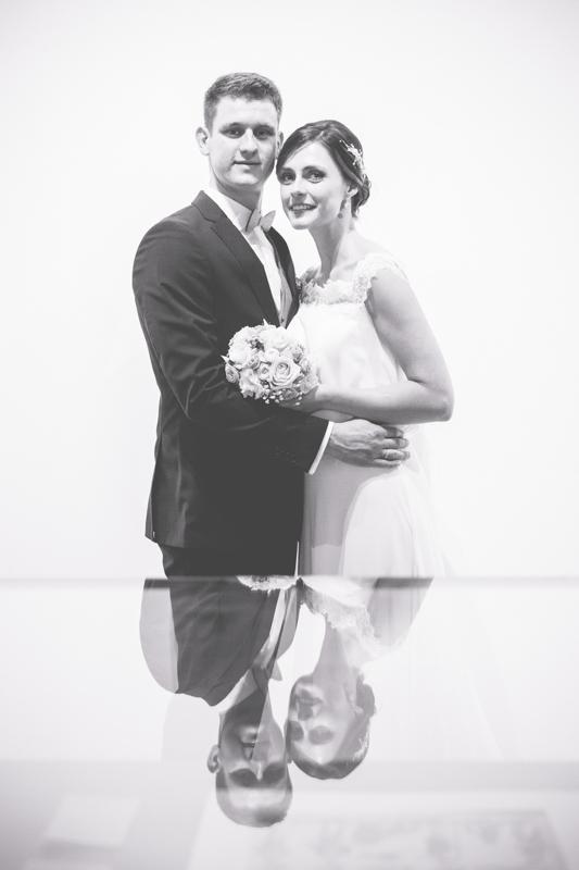 Brautpaar im Museum in Neuruppin.