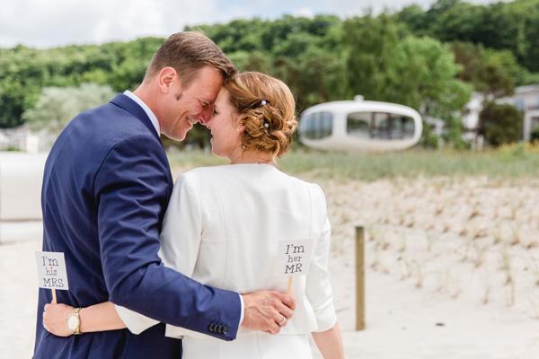 Hochzeit im Binzer Rettungsturm