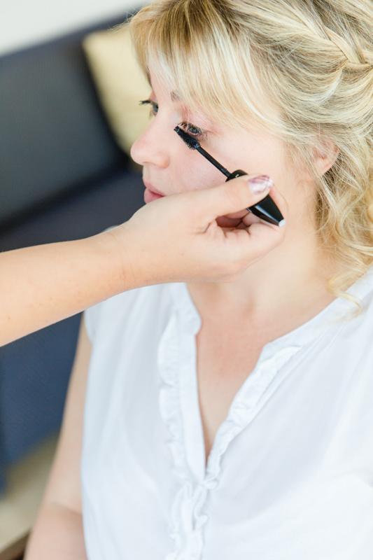 Braut Makeup.