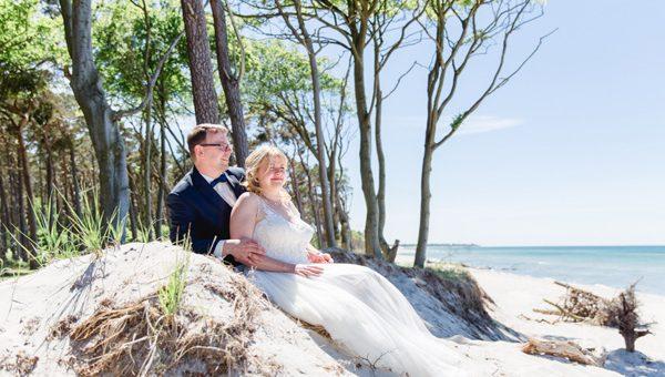 Standesamtliche Trauung mit Meerblick - Heiraten im The Grand Hotel Ahrenshoop