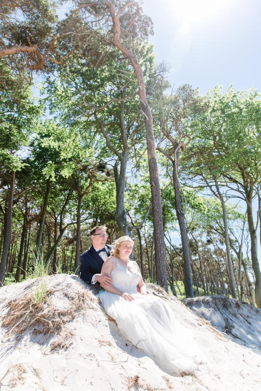 Ausgefallene Hochzeitsfotografie.