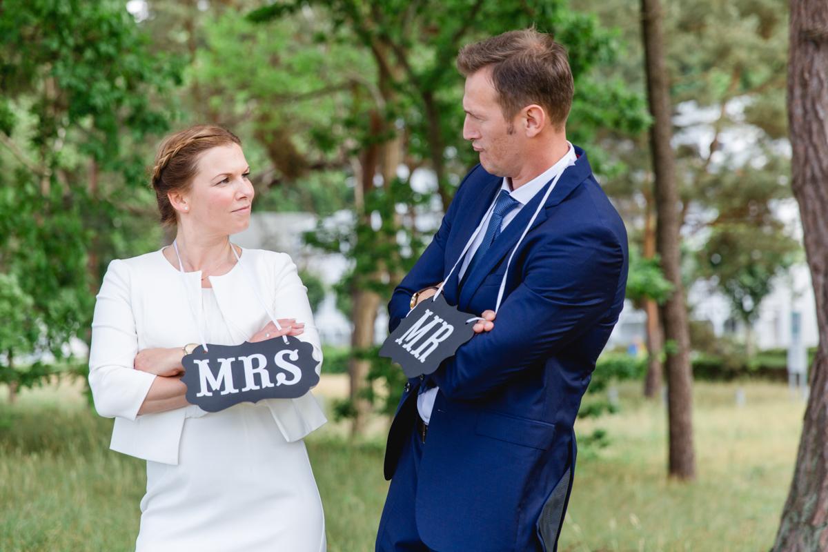 Lustige Hochzeitsfotos.