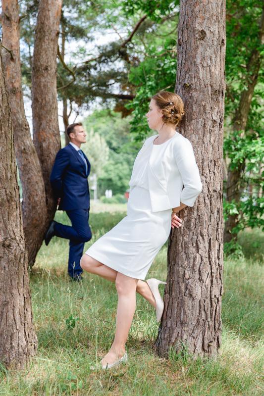 Brautpaarfotoshooting in Binz.