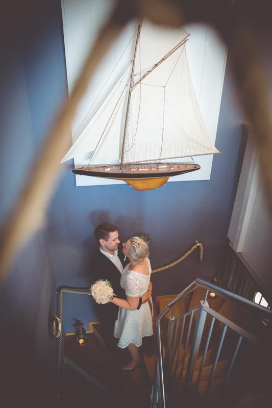 Maritime Hochzeit in Markgrafenheide.