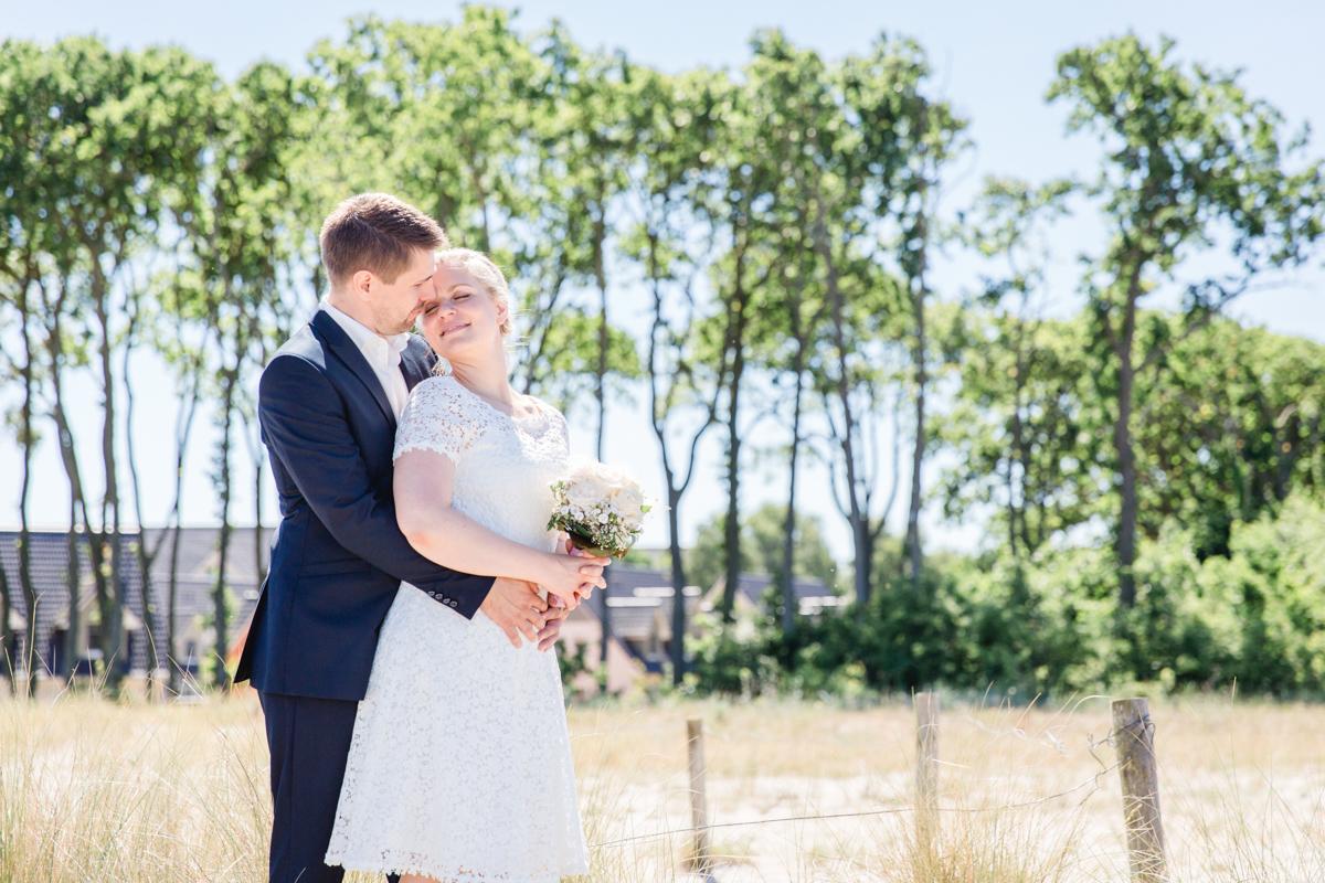 Hochzeitsfotos aufgenommen von der Fotografin aus Markgrafenheide.