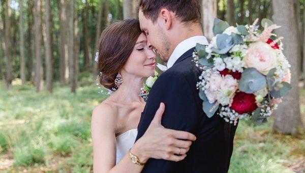 Brautpaarfotoshooting im Gespensterwald bei Rostock